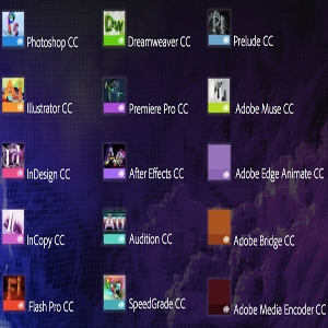 Adobe CC products