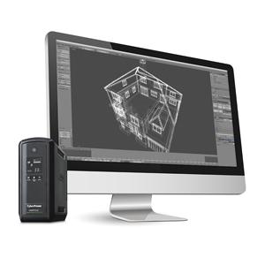 CyberPower UPS 1KVA PC