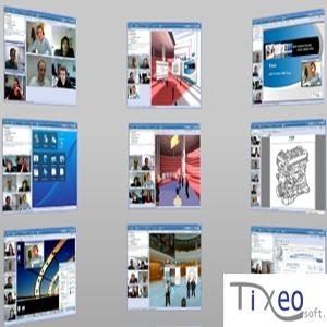 Tixeo desktop sharing